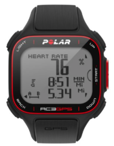 Polar RC3 runners GPS Watch