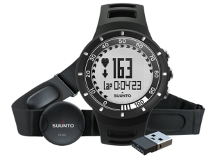 Suunto Quest runners watch with heart rate monitor