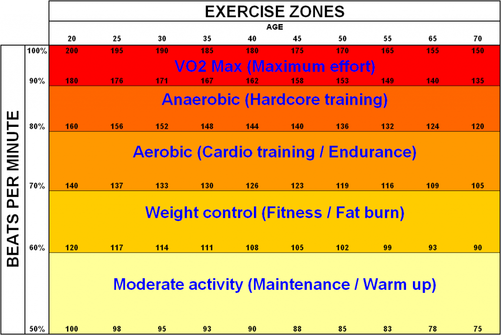 Heart Rate Zones to train with running GPS with HRM